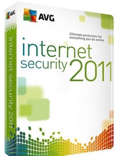 Антивирус AVG Internet Security 2011 1ПК, 1 год