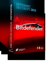 Антивирус Bitdefender Internet Security 2013 1 ПК(1 год)