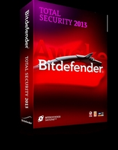 Антивирус Bitdefender Total Security 2013 1 ПК 2 года