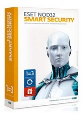 Антивирус ESET NOD32 Smart Security+Bonus+расш. функц. - унив. лиц. на 1г на 3ПК или продл. на 20мес