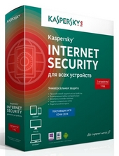 Антивирус Kaspersky Internet Security Multi-Device 2ПК, 1 год