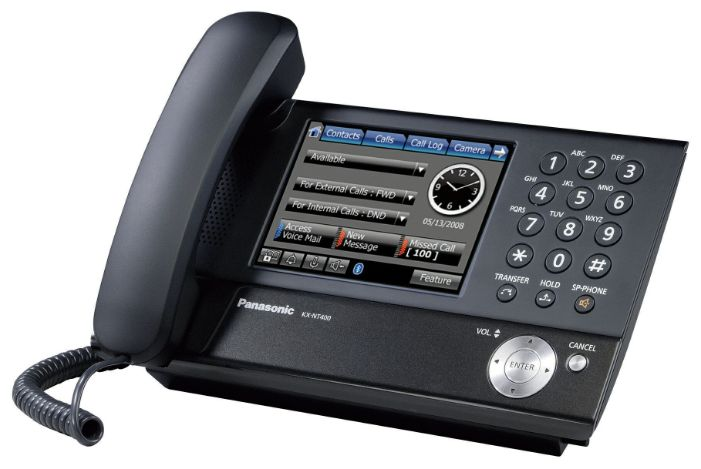 VoIP-телефон Panasonic KX-NT400RU - All-USB.ru